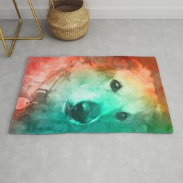 Loveable Dog Pets Rug