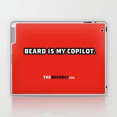 BEARD IS MY COPILOT.  Laptop & iPad Skin