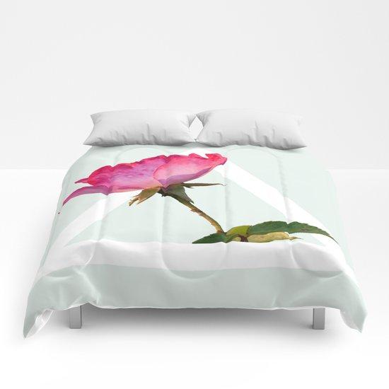 Rose #society6 #decor #lifestyle #buyart Comforters