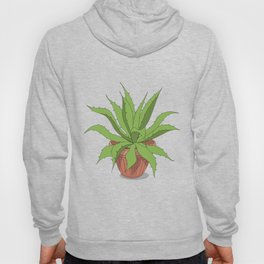 agave in the pot Hoody