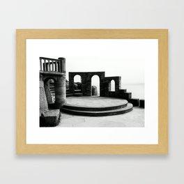 Porthcurno Framed Art Print