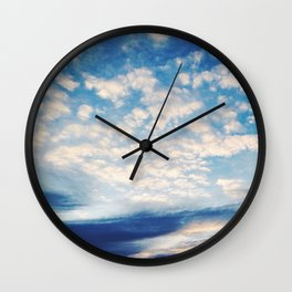Sound of Clouds Wall Clock