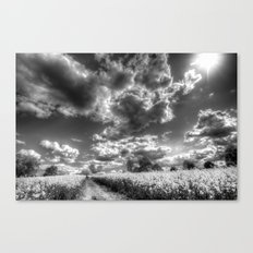 The Farm Pathway  Canvas Print