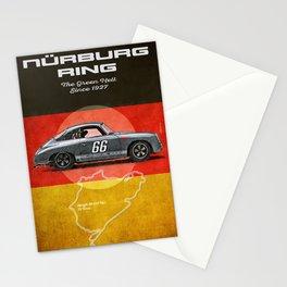 Nurburgring 356 Vintage Stationery Cards