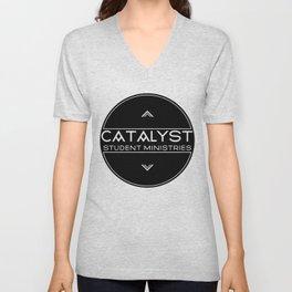 Catalyst Student Ministries - Black Unisex V-Neck