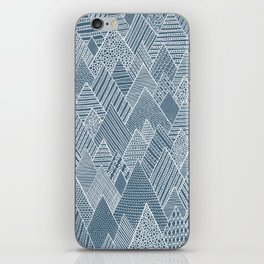 Mountain Pattern iPhone Skin