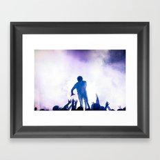 I See Stars Framed Art Print