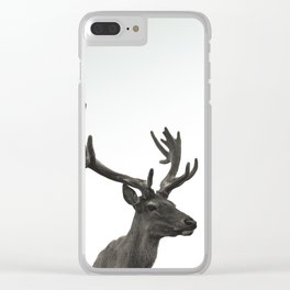 Single Deer Clear iPhone Case