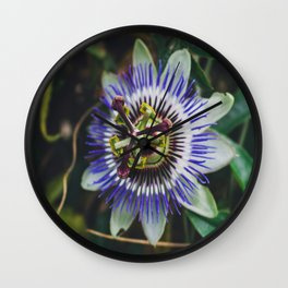 Flower Firework Wall Clock