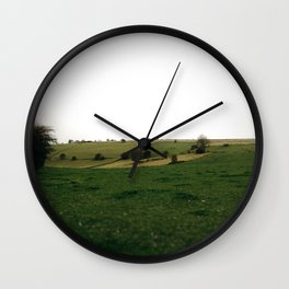 Derbyshire landscape Wall Clock