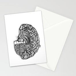 I am Human- Brain Stationery Cards