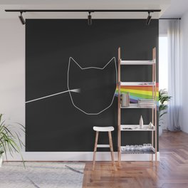 Purrism Wall Mural