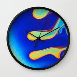 Soap macro Wall Clock
