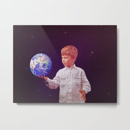 Little Prince Metal Print