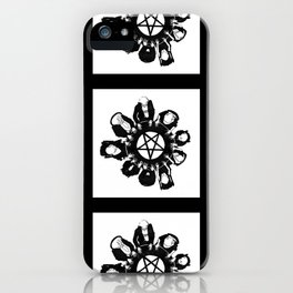 The night they summoned the demon R.H.L. iPhone Case