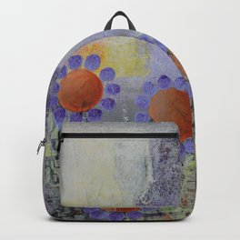 Cheery Flowers Abstract Backpack