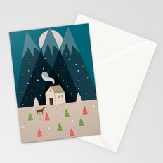 Winterworm Stationery Cards