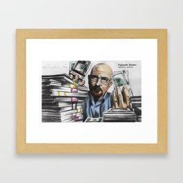 Walter White Framed Art Print