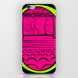 August - Embarrassing Memory Movie Theatre iPhone Skin