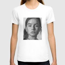 Daisy Ridley Portrait T-shirt