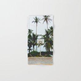 Basketball on Isla Bastimento, Bocas del Toro, Panama Hand & Bath Towel