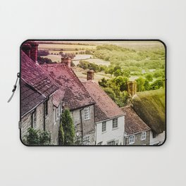 Down a quiet road in Gold Hill, Shaftesbury Laptop Sleeve