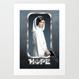 Leia's Hope Art Print