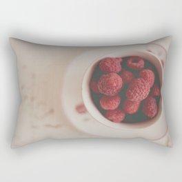 Raspberries Photograph #raspberryprint #foodprint #fooddecor #kitchendecor Rectangular Pillow