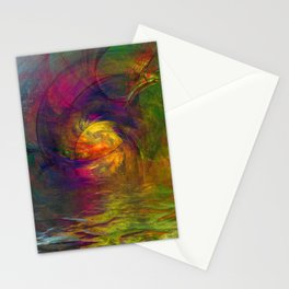 Elvora abstraction Stationery Cards