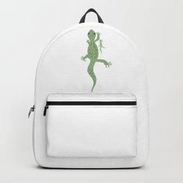 Gecko Mama and Baby Backpack