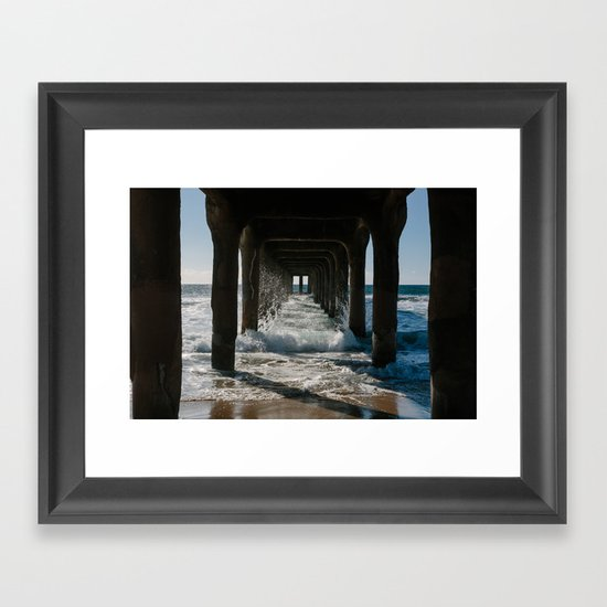 Coming Your Way Framed Art Print