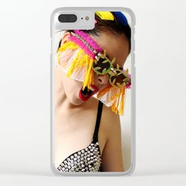 Funk the Color Clear iPhone Case