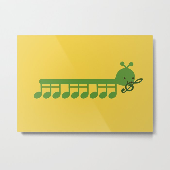 Caterpillar Song Metal Print