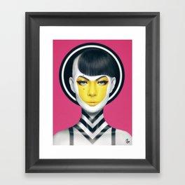 """""""YELL."""" Framed Art Print"""