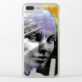LIVING DOLL PORTRAIT Clear iPhone Case