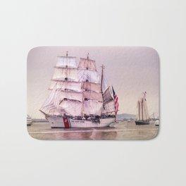Tall Ships in Boston -USCG Bath Mat