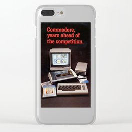 Commodore 64 Poster Clear iPhone Case