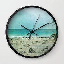 Tulum Ombre Wall Clock
