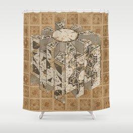 Hellraiser Puzzlebox C Shower Curtain