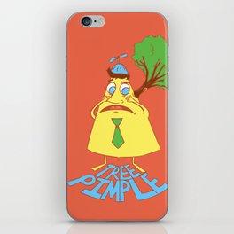 Tree Pimple iPhone Skin
