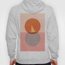 Abstraction_NEW_SAILING_SUNSET_POP_ART_Minimalism_001TH Hoody
