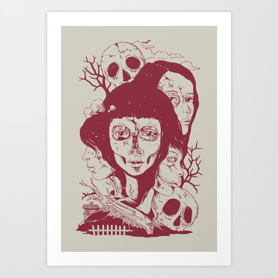 Life: A Tale of Tragedy, Rebirth, and Everything in Between Art Print