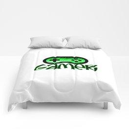 Gamer Green Comforters