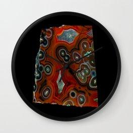 Condor Eye Agate Wall Clock
