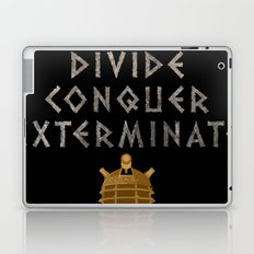 Doctor Who Dalek: Divide. Conquer. Exterminate! Laptop & iPad Skin