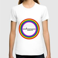 equality T-shirts featuring Equality by LukaG