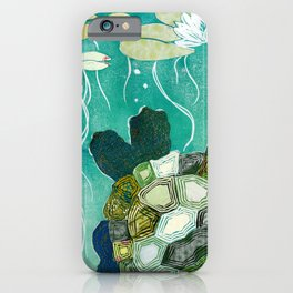 Two-Headed Turtle II iPhone Case