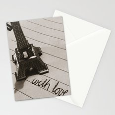 from paris... Stationery Cards