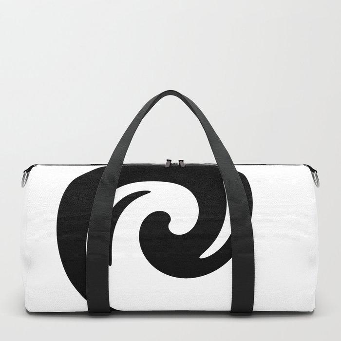 Yin Yang Exagerated Duffle Bag