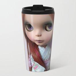 Erregiro Blythe Custom Doll Oriental Lavander Travel Mug